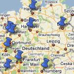 Top 10 - Wahlbezirke Bundestagswahl 2005