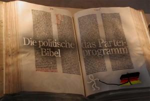 Das Parteiprogram - die politische Bibel