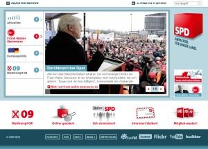 Startseite von spd.de