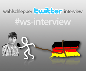 Wahlschlepper Twitter-Interview mit Norbert Hense