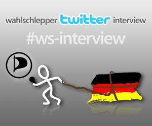 Wahlschlepper Twitter Interview mit der Piratenpartei